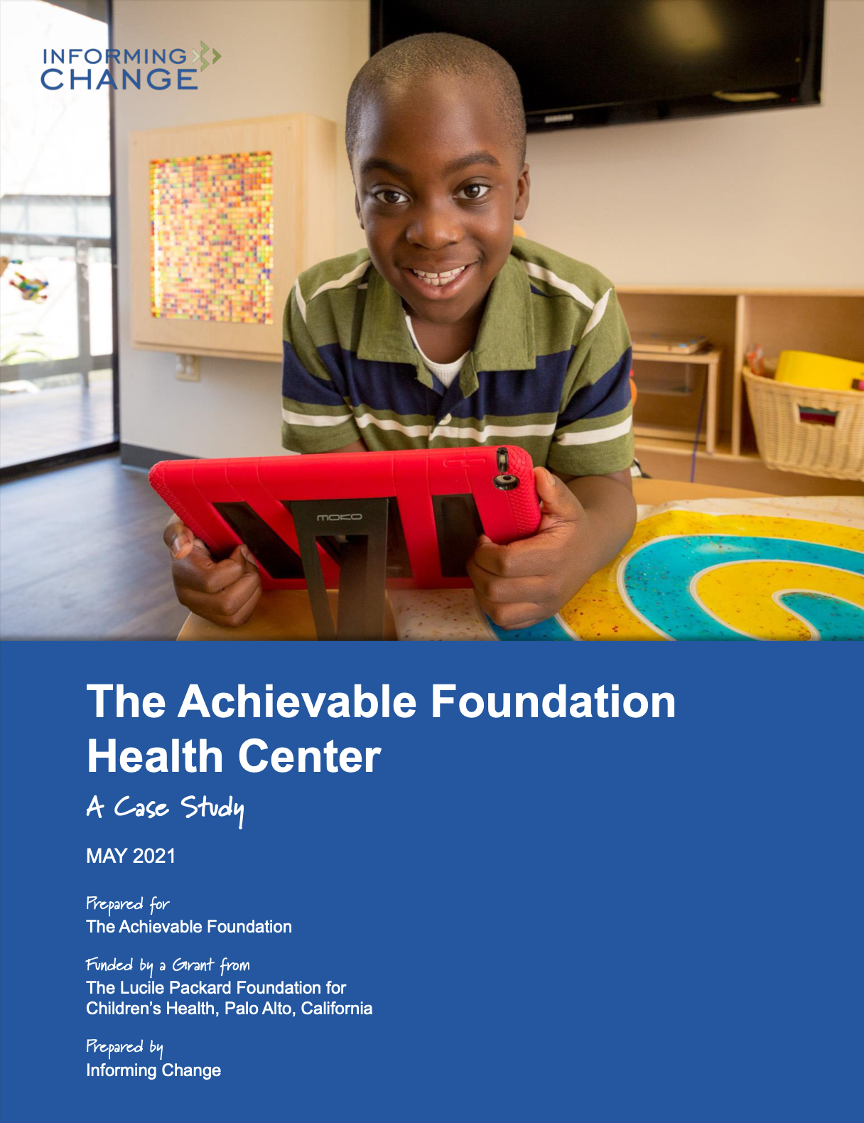 page 1 of The achievable foundation case study